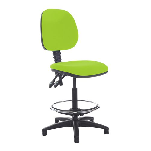 Jota draughtsmans chair with no arms - Madura Green