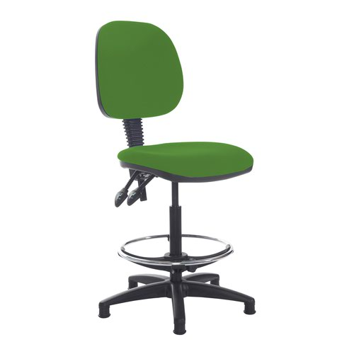 Jota draughtsmans chair with no arms - Lombok Green