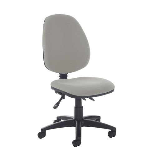 Jota high back asynchro operators chair with no arms - Slip Grey