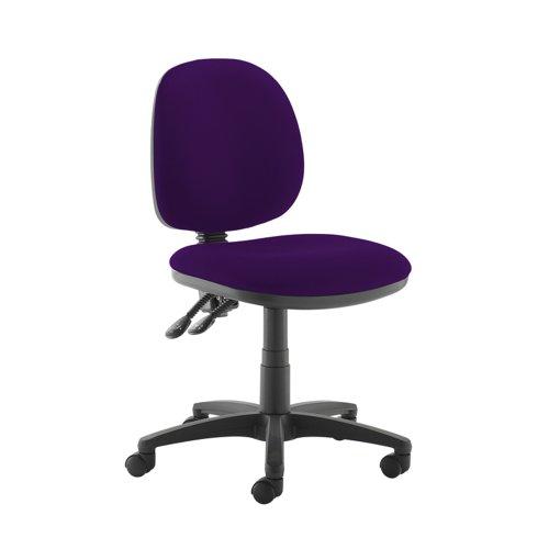 Jota medium back PCB operators chair with no arms - Tarot Purple