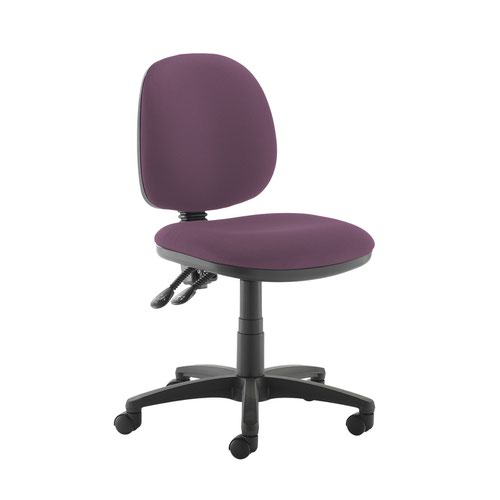 Jota medium back PCB operators chair with no arms - Bridgetown Purple
