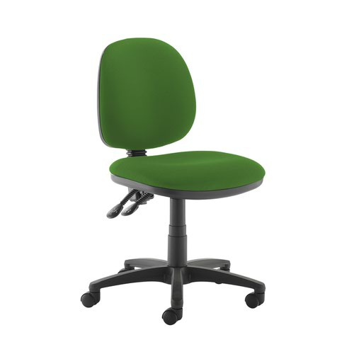 Jota medium back PCB operators chair with no arms - Lombok Green