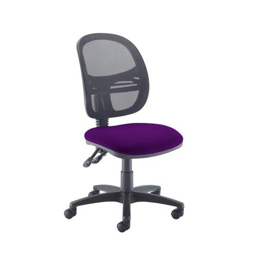 Jota Mesh medium back operators chair with no arms - Tarot Purple