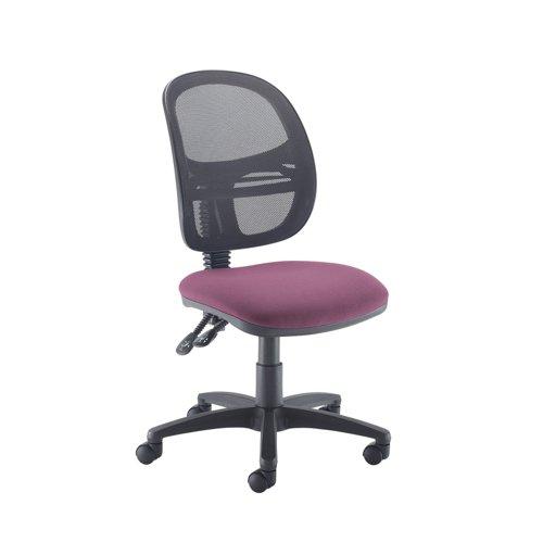 Jota Mesh medium back operators chair with no arms - Bridgetown Purple