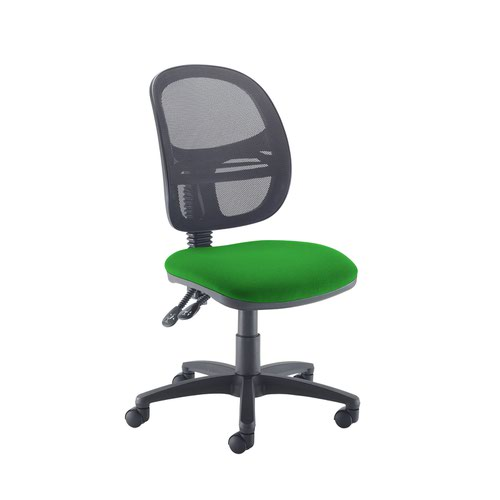 Jota Mesh medium back operators chair with no arms - Lombok Green