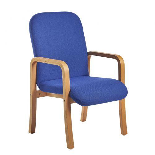 Yealm Reception Arm Chair Blue