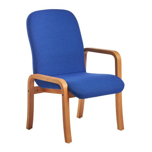 Yealm Reception Left Arm Chair Blue