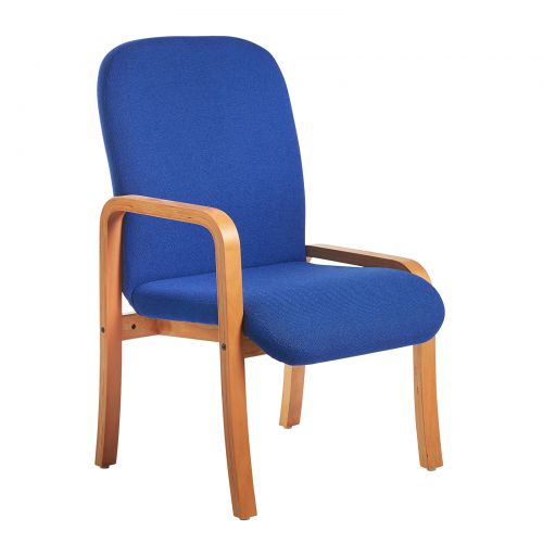 Yealm Reception Right Arm Chair Blue