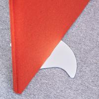 Vibe designer floor standing screen feet (pair) - white