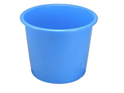 ValueX Deflecto 14L Plastic Waste Bin Blue