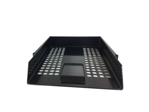 ValueX Deflecto Letter Tray Black