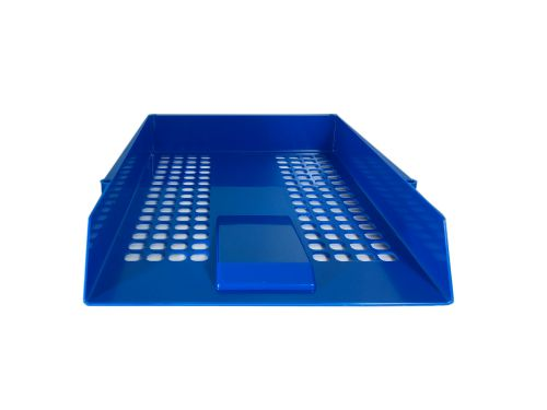 ValueX Deflecto Letter Tray Blue
