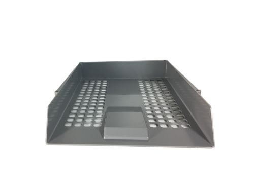 ValueX Deflecto Letter Tray Grey