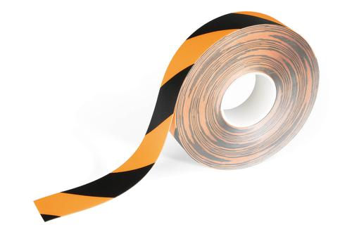 Durable Removable Floor Marking Tape DURALINE® 50/05 - Yellow/Black Pack of 1