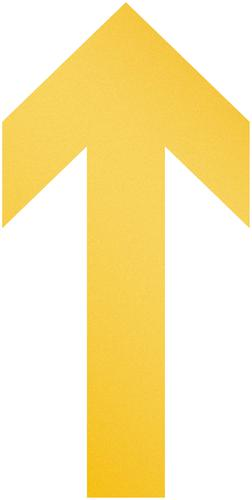 Durable Removable Durable Floor Marking Shape 'Arrow' Pack of 10