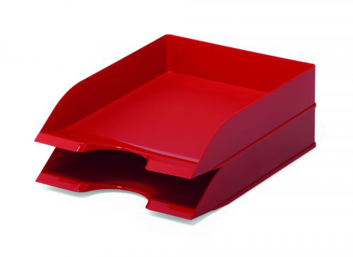 Durable Letter Tray BASIC Red