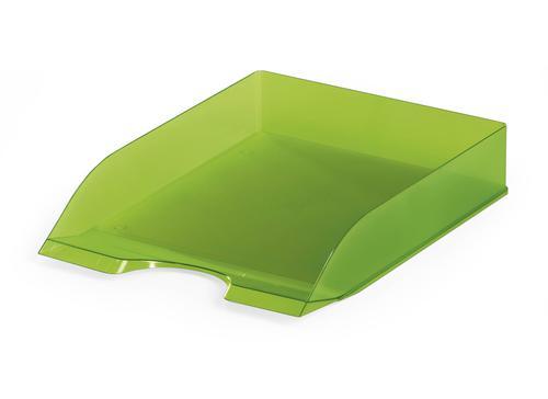 Durable Durable Letter Tray BASIC Transparent Light Green