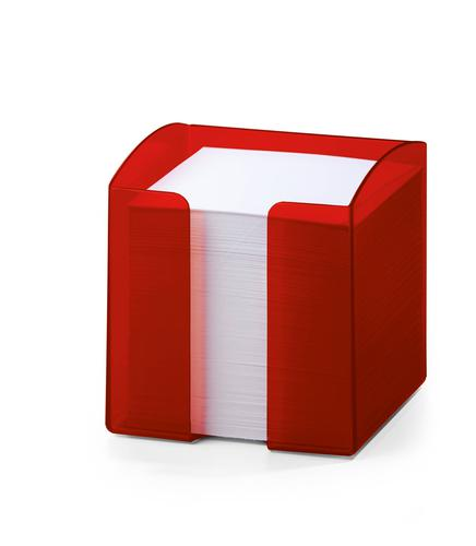 Durable Trend Noteholder Tranclucent Red 1701682003