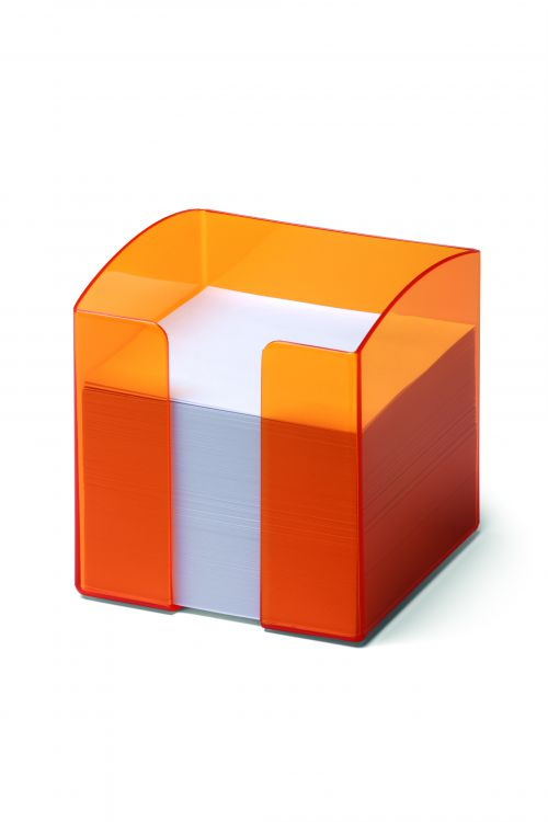 Durable Trend Noteholder Tranclucent Orange 1701682009