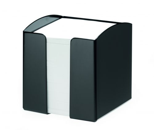 Durable Note Box Trend Black Pack of 6