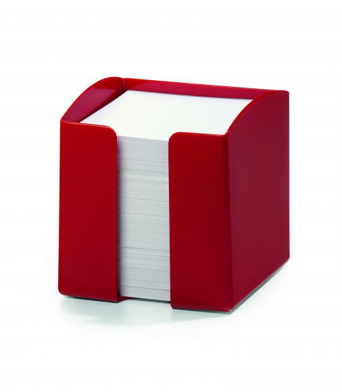 Durable Note Box Trend Red Pack of 6