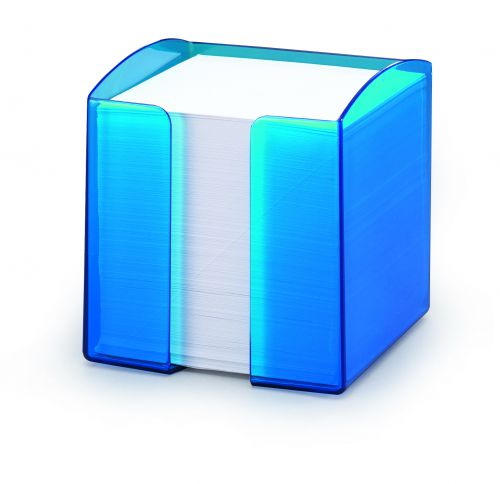 Durable Note Box Trend Transparent Blue Pack of 6