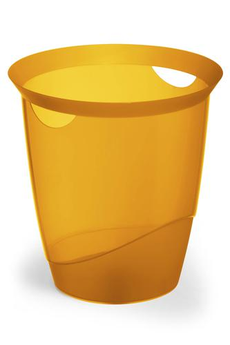 Durable Waste Bin Trend 16 Litres Orange  Pack of 6
