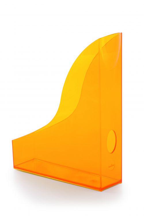 Durable Trend Magazine File Translucent Orange 1701711009