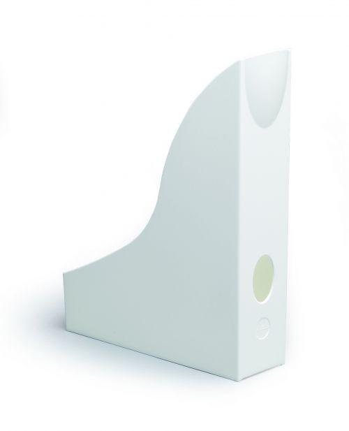 Durable Durable Magazine Rack Basic White