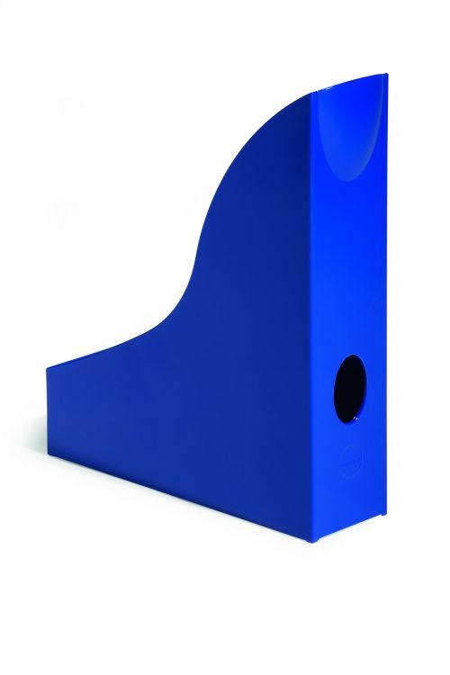 Durable Magazine Rack Basic Blue
