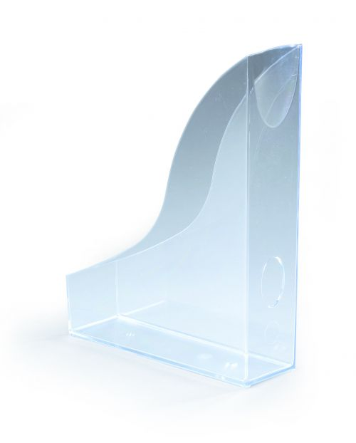 Durable Magazine Rack Basic Transparent