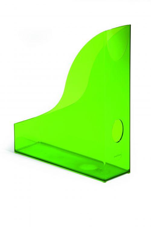 Durable Durable Magazine Rack Basic Transparent Light Green