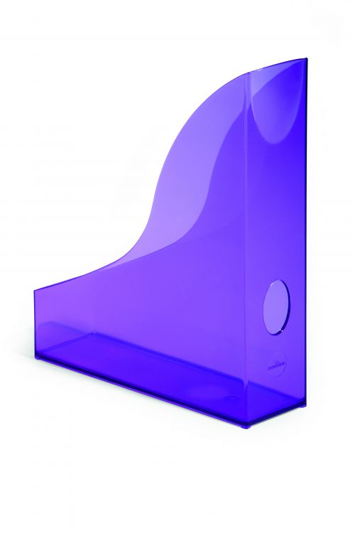 Durable Durable Magazine Rack Basic Transparent Purple