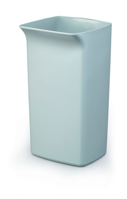 Durable Durabin Square 40 Litre Bin Grey 1800798050