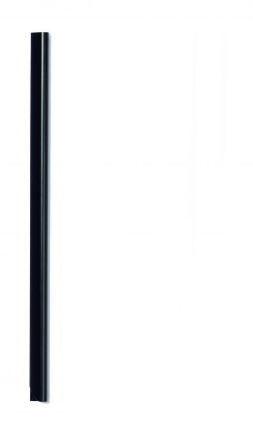 Durable Spine Bar A4 6mm Black (Pack 50) 293101