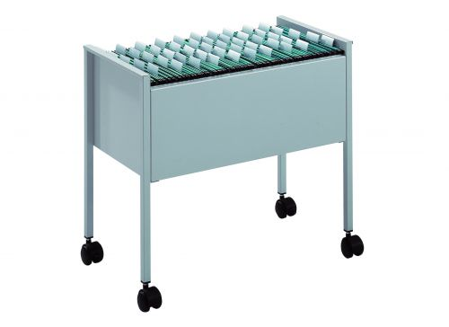 Durable Suspension File Trolley, Foolscap, Grey 3097-10