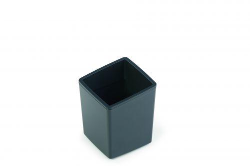 Durable COFFEE POINT Bin Small Desktop Waste Bin for Coffee Capsuals, Tea Bags, Sugar Sachets