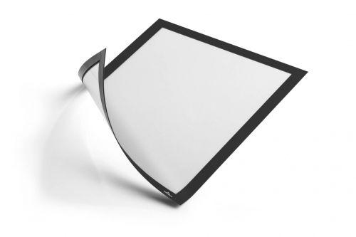 Duraframe Magnetic Frame A4 Dark Black (Pack 5)