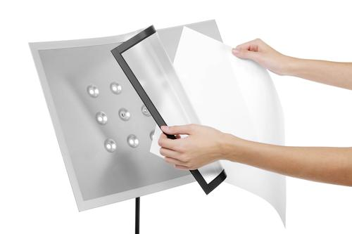 Durable Duraview Stand A3 Silver 498223 - DB40651