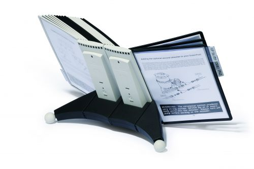 Durable Sherpa Desk Unit 20 Index Tabs and 20 Panels 551922