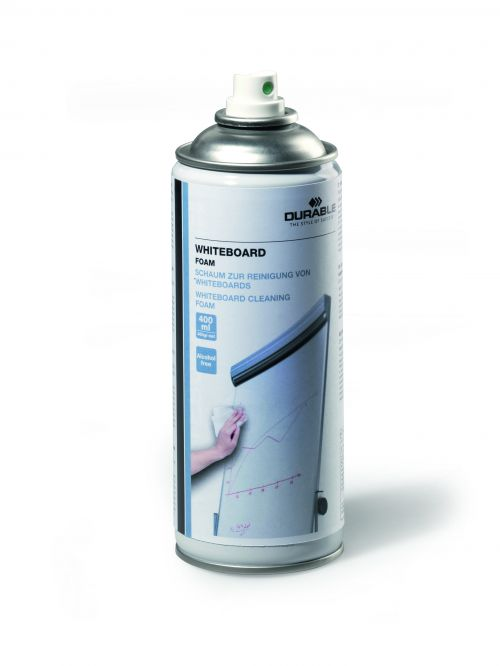 Durable Whiteboard Cleaning Foam 400ml HFC-Free Ref 575602