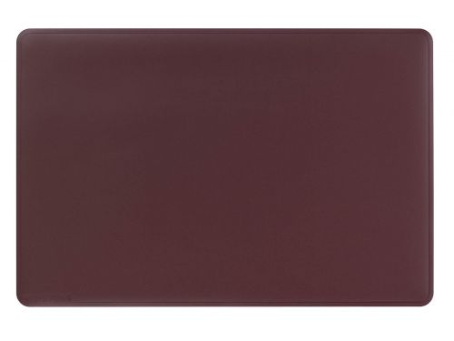 Durable Desk Mat with Contoured Edges 54 x 40cm Red Pack of 5