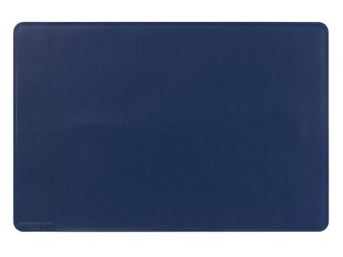 Durable Desk Mat with Contoured Edges 54 x 40cm Dark Blue Pack of 5