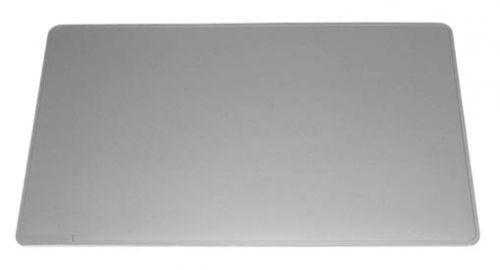 Durable Desk Mat with Contoured Edges 65 x 50cm Grey