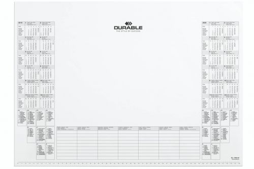 Durable Refill Calendar Pad 59 x 42 White Pack of 1