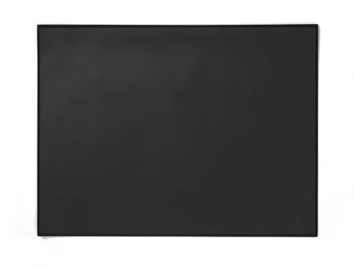 Durable Desk Mat with Edge Protector 65 x 52cm Black Pack of 5