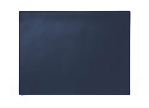 Durable Desk Mat with Edge Protector 65 x 52cm Dark Blue Pack of 5