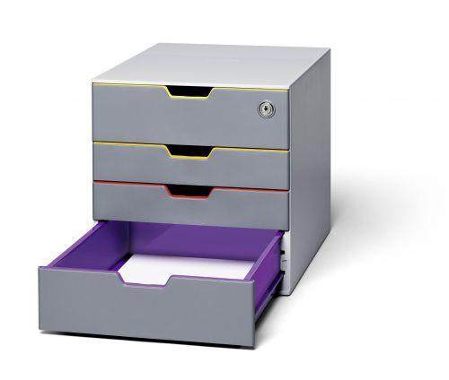 Durable VARICOLOR 4 Safe Drawer Box