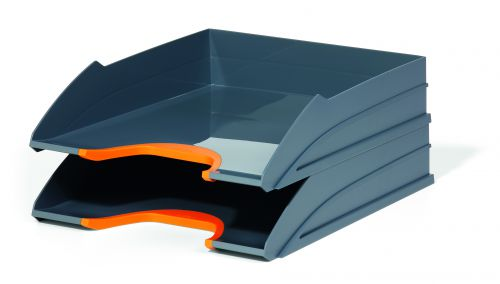 Durable VARICOLOR® Durable Letter Tray Set - 2 Trays