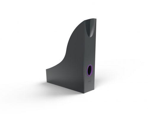 Durable VARICOLOR Magazine Rack Light Purple